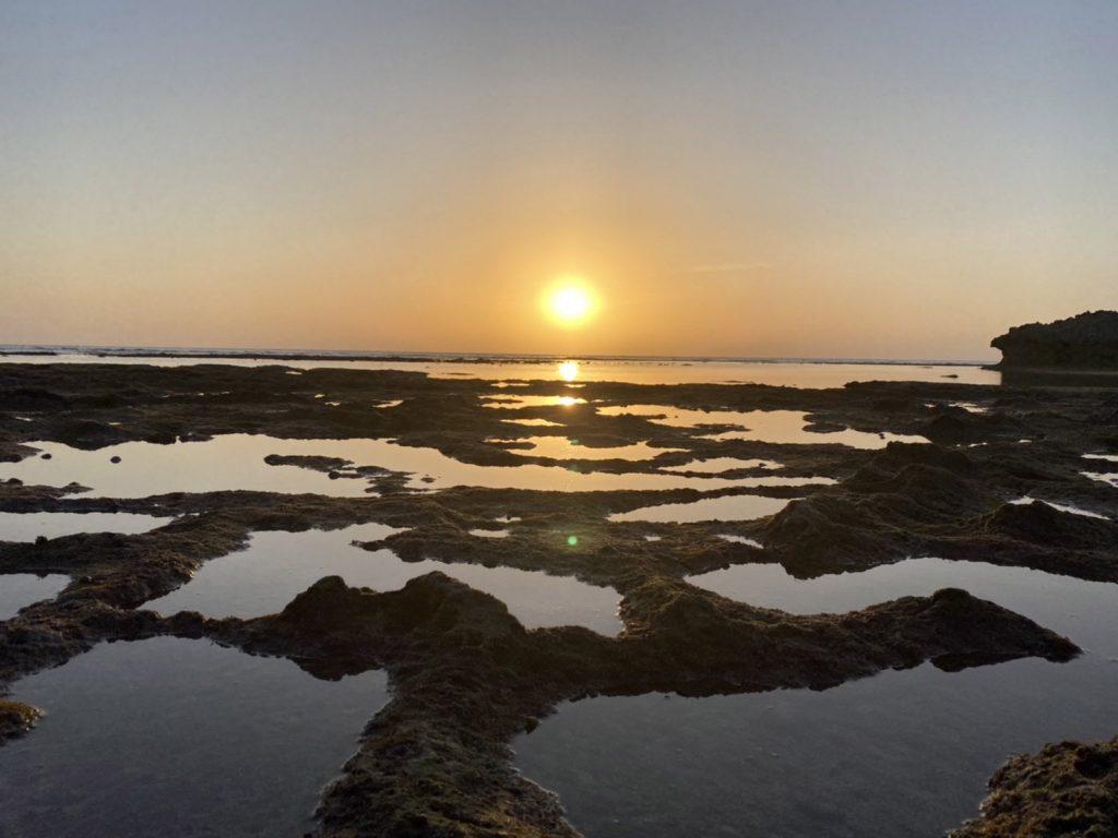 夕日の絶景ポイント アポガマ